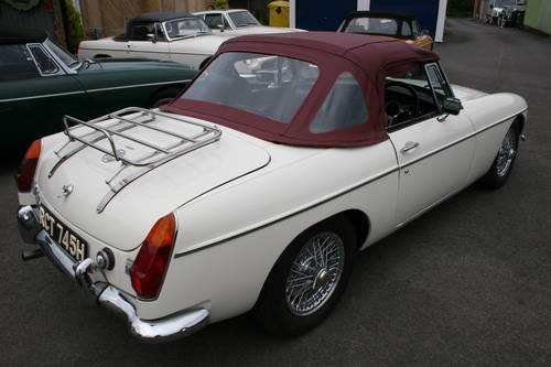 1970 MGB HERITAGE SHELL, Chrome wires SOLD (picture 2 of 5)