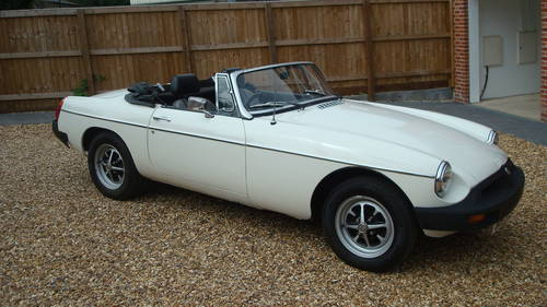 1979 MGB Roadster SOLD (picture 1 of 6)
