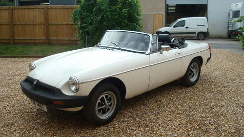1979 MGB Roadster SOLD (picture 2 of 6)