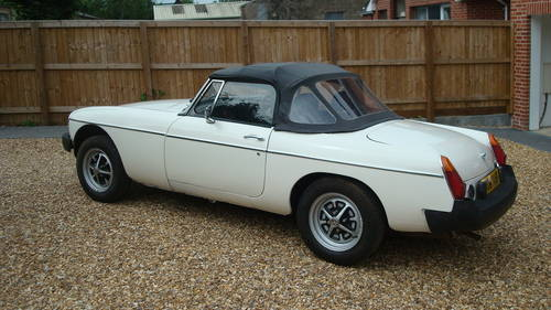 1979 MGB Roadster SOLD (picture 4 of 6)