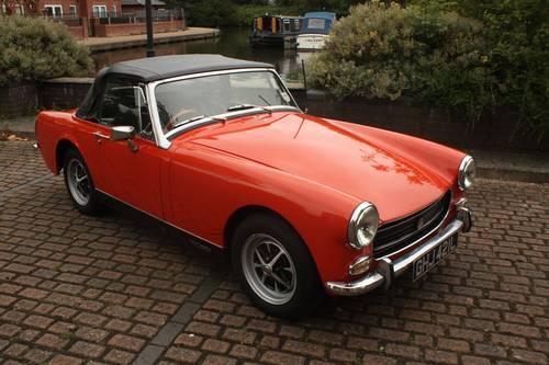 1972 MG Midget MkIII - Blaze orange, fully restored SOLD (picture 1 of 5)