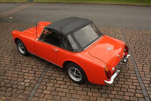 1972 MG Midget MkIII - Blaze orange, fully restored SOLD (picture 2 of 5)