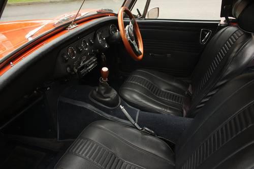 1972 MG Midget MkIII - Blaze orange, fully restored SOLD (picture 3 of 5)
