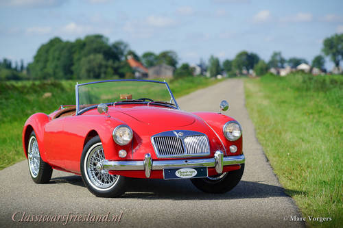 MG MGA 1500 ROADSTER, 1959 - TOP CONDITION For Sale (picture 1 of 6)