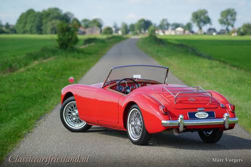 MG MGA 1500 ROADSTER, 1959 - TOP CONDITION For Sale (picture 6 of 6)