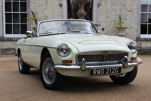 1967 MG C Roadster | Beautiful Clean Condition Throughout SOLD (picture 1 of 6)