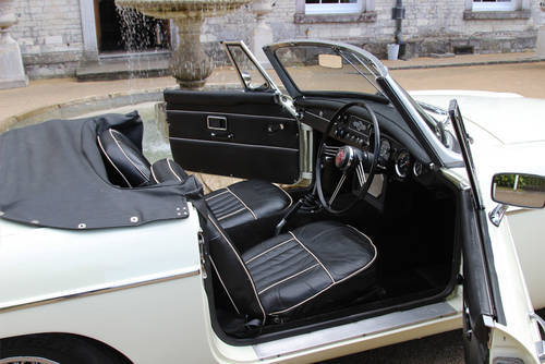 1967 MG C Roadster | Beautiful Clean Condition Throughout SOLD (picture 5 of 6)