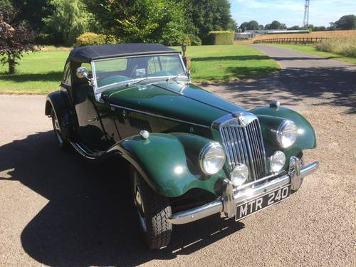 1954 MG TF for sale in Hampshire... SOLD (picture 1 of 6)