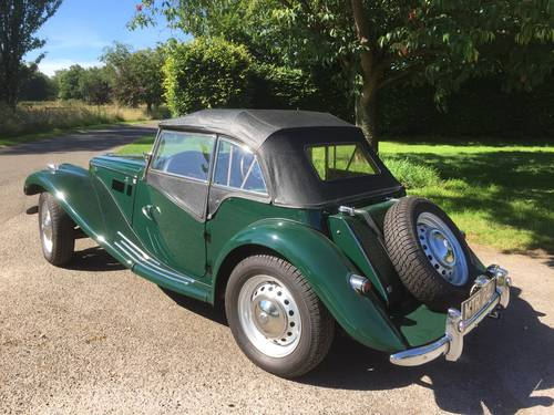 1954 MG TF for sale in Hampshire... SOLD (picture 2 of 6)