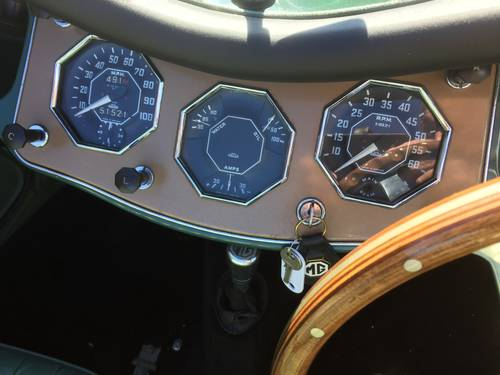 1954 MG TF for sale in Hampshire... SOLD (picture 3 of 6)
