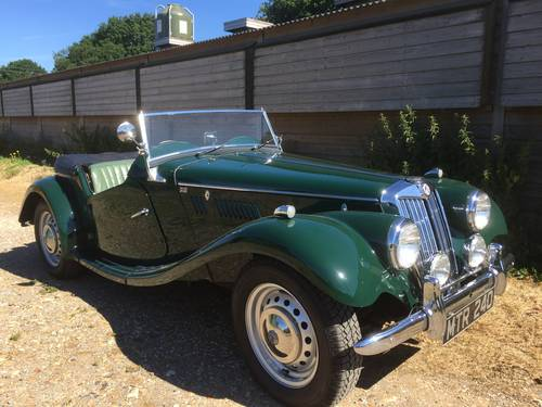 1954 MG TF for sale in Hampshire... SOLD (picture 4 of 6)