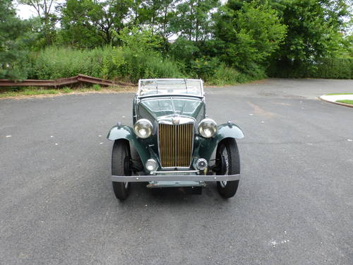 1948 MG TC Matching #s Good Driver-  SOLD (picture 2 of 6)