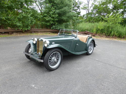 1948 MG TC Matching #s Good Driver-  SOLD (picture 3 of 6)