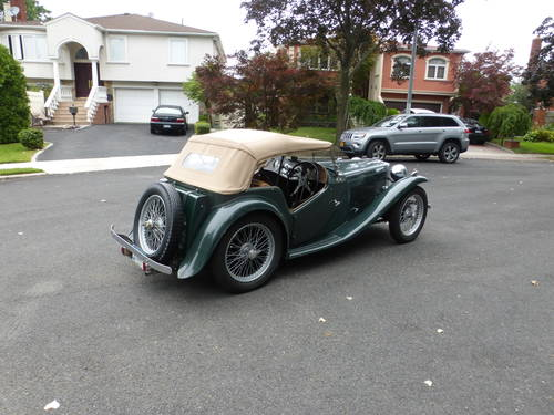 1948 MG TC Matching #s Good Driver-  SOLD (picture 4 of 6)