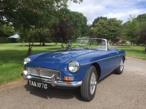 1969 MGC for sale in Hampshire... SOLD (picture 1 of 6)