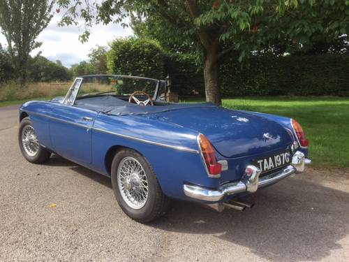 1969 MGC for sale in Hampshire... SOLD (picture 2 of 6)
