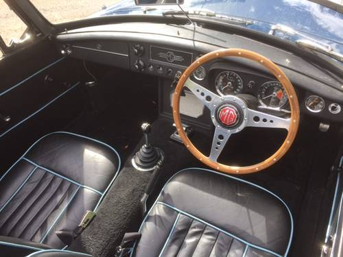 1969 MGC for sale in Hampshire... SOLD (picture 3 of 6)