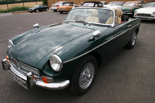 1974 MGB HERITAGE SHELL, As new. metallic racing green SOLD (picture 6 of 6)