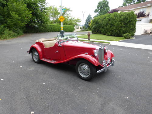 1953 MG TD Nice Driver - SOLD (picture 1 of 6)