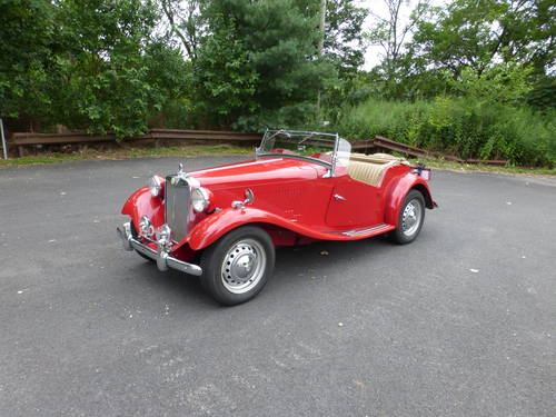 1953 MG TD Nice Driver - SOLD (picture 3 of 6)