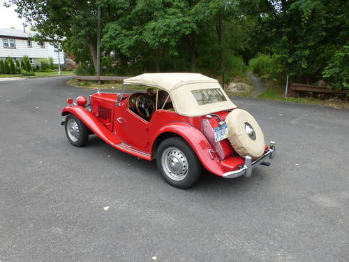 1953 MG TD Nice Driver - SOLD (picture 4 of 6)