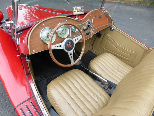 1953 MG TD Nice Driver - SOLD (picture 5 of 6)