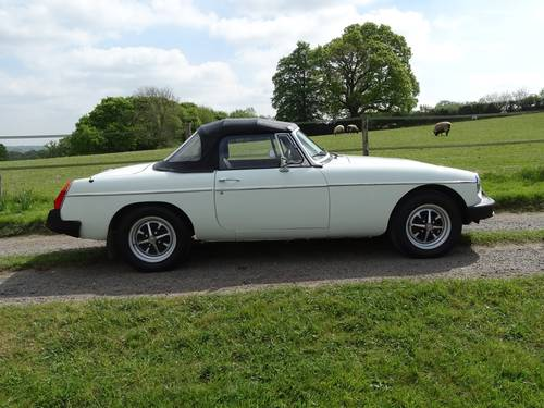 1976 Sound and presentable MGB Roadster,long MOT,tax free SOLD (picture 2 of 6)