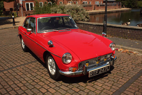 1972 MGB GT - Red, Restored - reliable car - MGBGT MG BGT SOLD (picture 1 of 6)