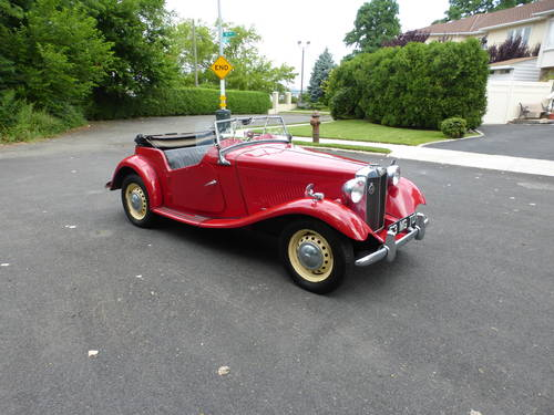 1953 MG TD A Good Driver - SOLD (picture 1 of 6)