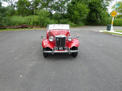 1953 MG TD A Good Driver - SOLD (picture 2 of 6)