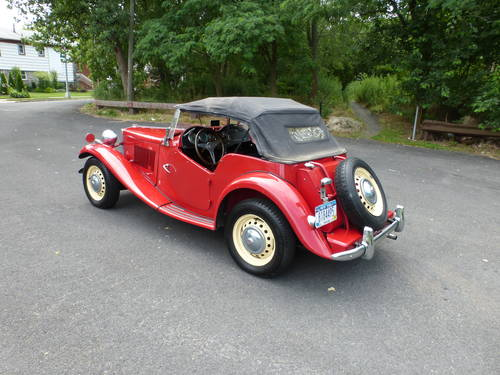 1953 MG TD A Good Driver - SOLD (picture 4 of 6)