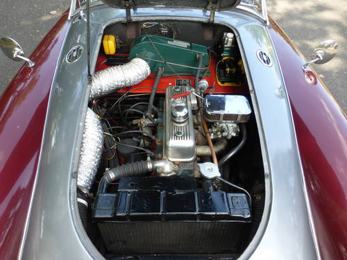 1961 MG A 1800 Roadster A Good Driver - SOLD (picture 6 of 6)