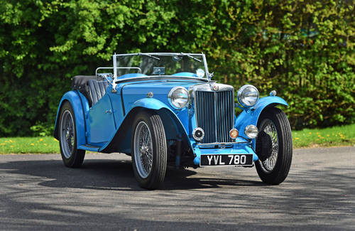 1946 MG TC previously restored, five speed, delightful SOLD (picture 1 of 6)