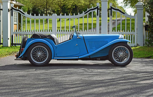 1946 MG TC previously restored, five speed, delightful SOLD (picture 2 of 6)