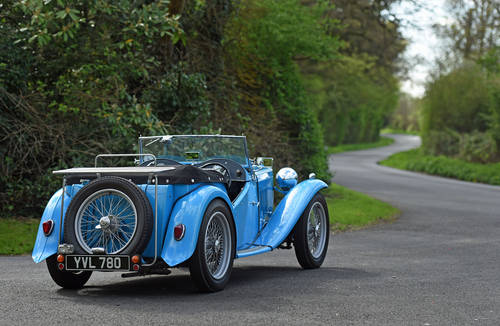 1946 MG TC previously restored, five speed, delightful SOLD (picture 3 of 6)