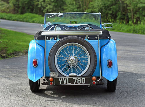 1946 MG TC previously restored, five speed, delightful SOLD (picture 4 of 6)