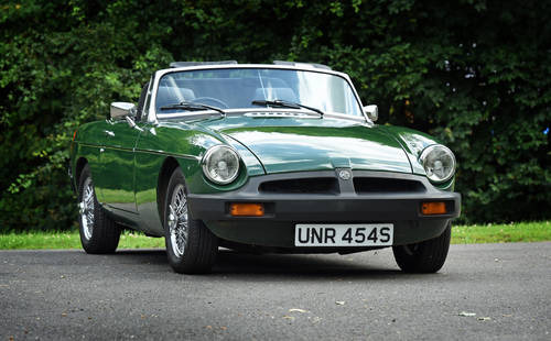 1977 MGB Roadster recent Ivor Searle engine SOLD (picture 1 of 6)