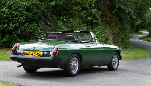 1977 MGB Roadster recent Ivor Searle engine SOLD (picture 3 of 6)