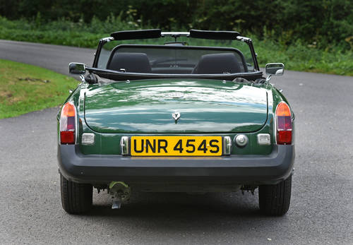 1977 MGB Roadster recent Ivor Searle engine SOLD (picture 4 of 6)