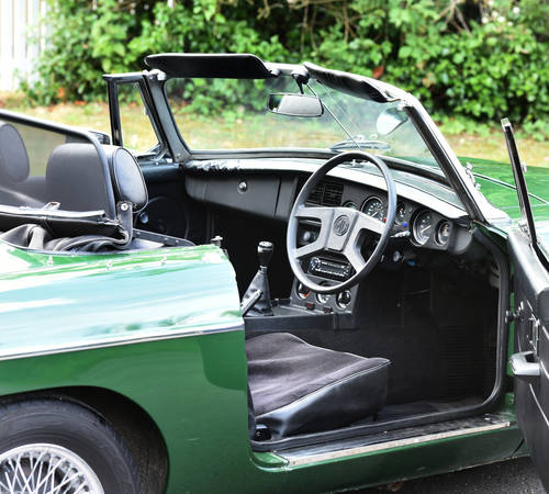 1977 MGB Roadster recent Ivor Searle engine SOLD (picture 6 of 6)