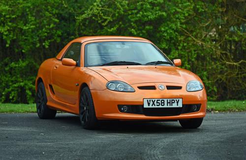 2008 MG TF LE500 Vibrant Orange rare car SOLD (picture 1 of 6)