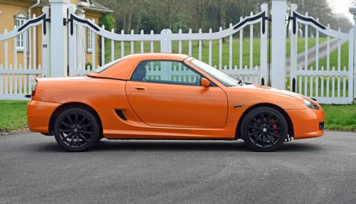 2008 MG TF LE500 Vibrant Orange rare car SOLD (picture 2 of 6)