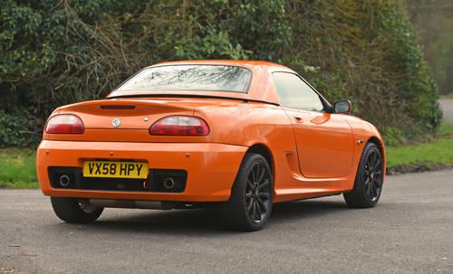 2008 MG TF LE500 Vibrant Orange rare car SOLD (picture 3 of 6)
