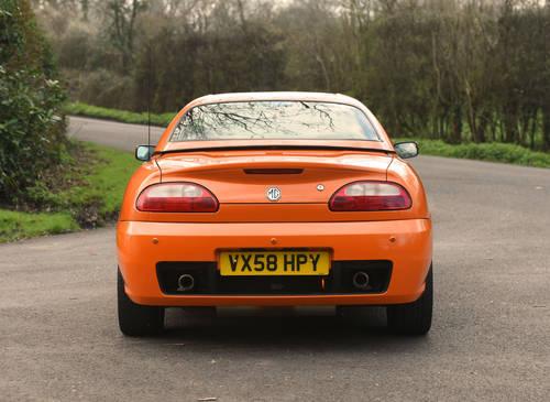 2008 MG TF LE500 Vibrant Orange rare car SOLD (picture 4 of 6)