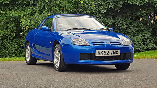 2002 MG TF 120 Stepspeed rare car SOLD (picture 1 of 6)