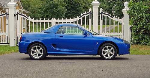 2002 MG TF 120 Stepspeed rare car SOLD (picture 2 of 6)