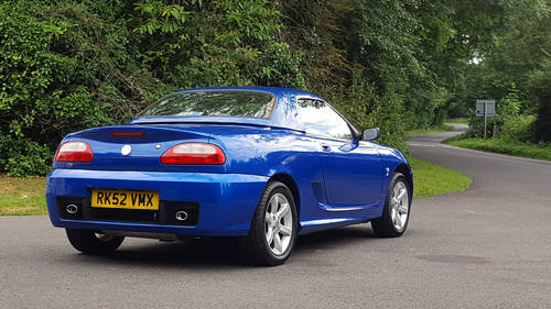 2002 MG TF 120 Stepspeed rare car SOLD (picture 3 of 6)