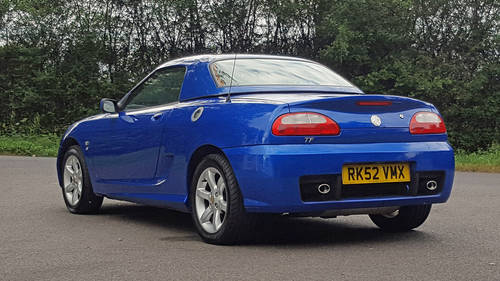 2002 MG TF 120 Stepspeed rare car SOLD (picture 5 of 6)