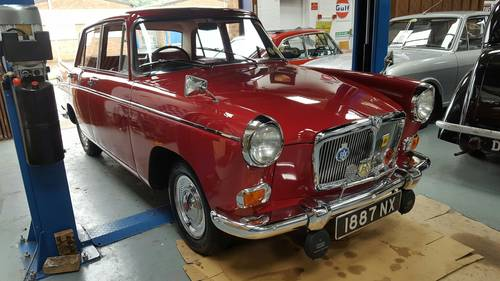 1959 MG Magnette Saloon - 17,000 miles from new SOLD (picture 1 of 6)