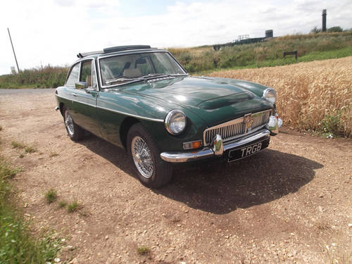 RESTORED 1969 MGB GT FOR SALE SOLD (picture 4 of 6)